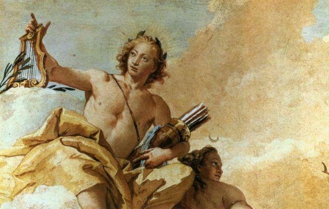 К какому богу обращались художники в древней греции