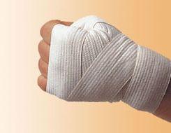 Как бинтовать боксерские бинты