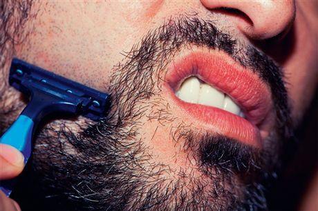 Как брить бороду