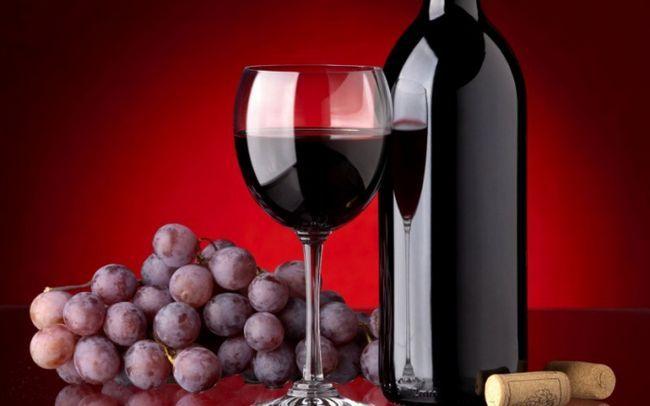 Как делают красное вино