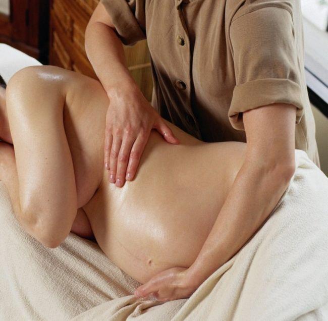 Как делать массаж беременным