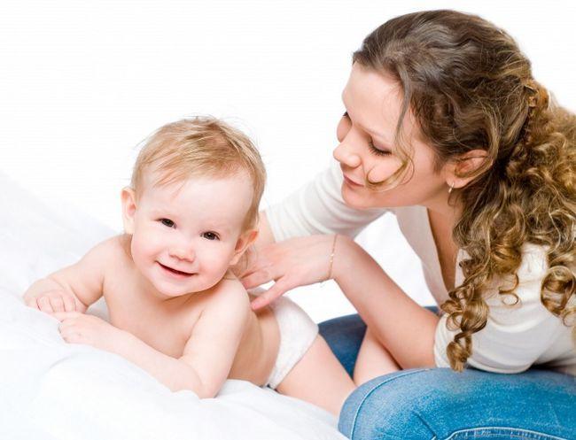Как делать массаж детям