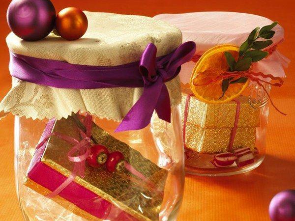 Как делать новогодние подарки своими руками