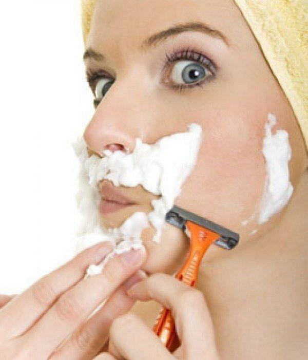 Как избавиться от волосков над губами