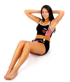 Сделать живот плоским с помощью тренировок мышц брюшного пресса