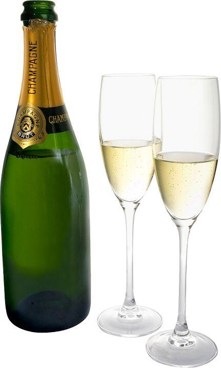 Как легко открыть бутылку шампанского