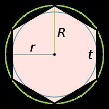 Как начертить шестиугольник