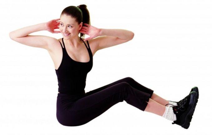 Качайте мышцы пресса и ваш живот всегда будет подтянутым