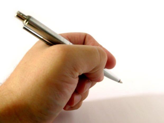 Как написать заявление в школу