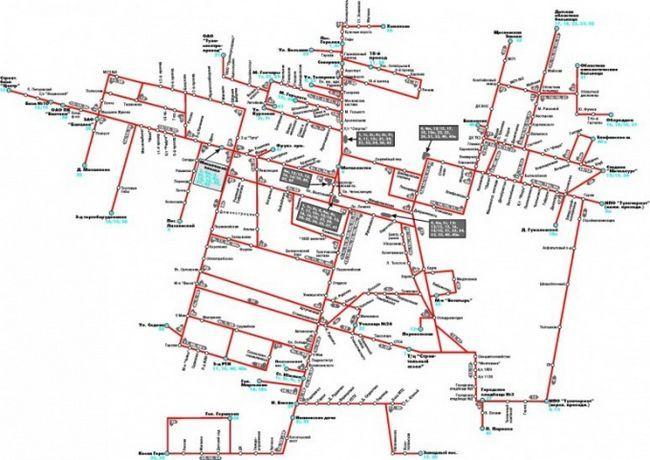 Как нарисовать схему маршрута