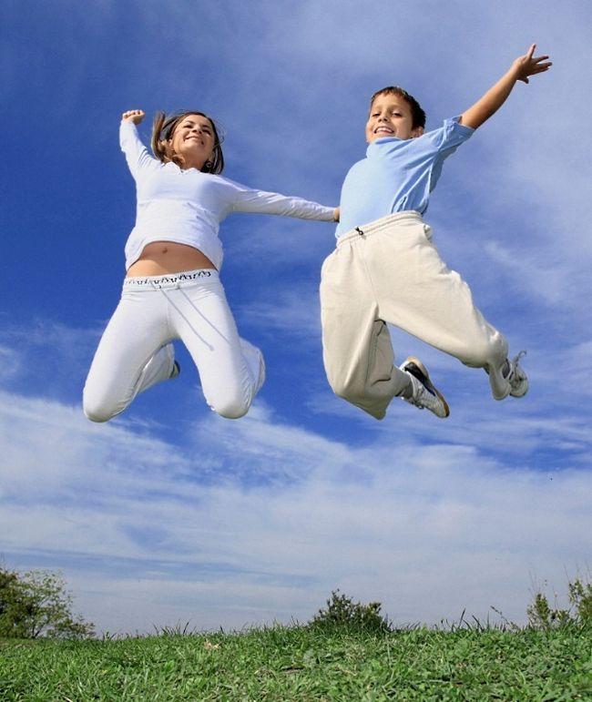 Как научить ребенка прыгать