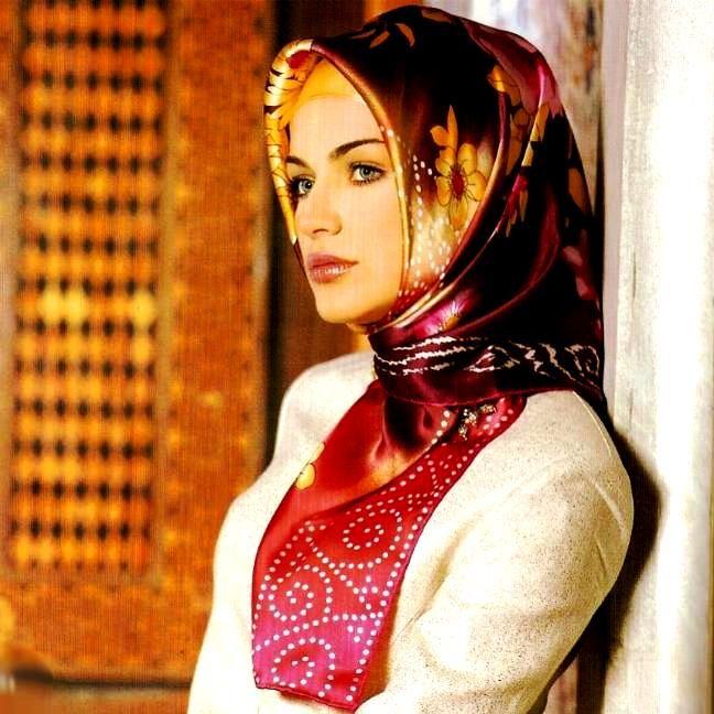 Как носить хиджаб