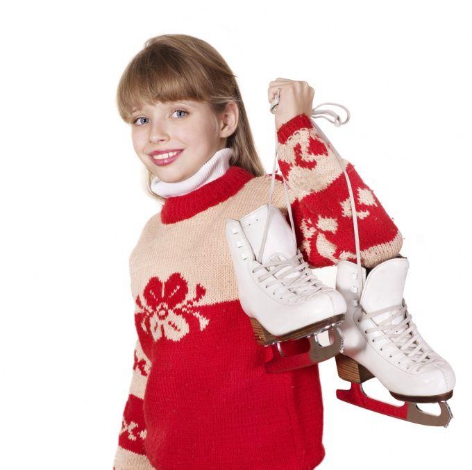 Как обучаться катанию на коньках