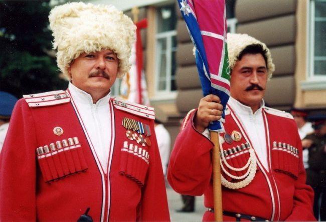 Как одевались донские и кубанские казаки