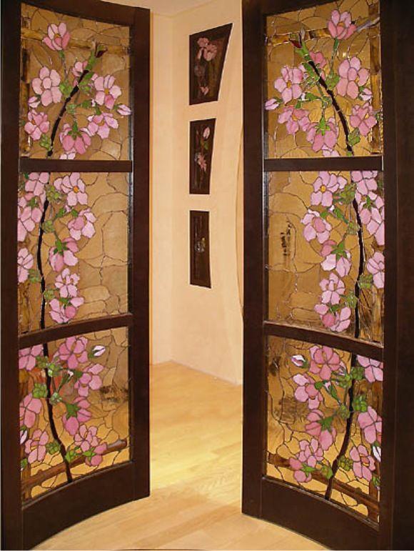 Как оформить дверь