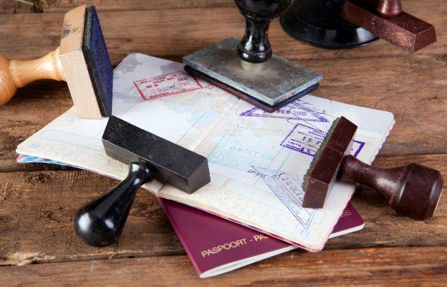 Как оформить визу в америку