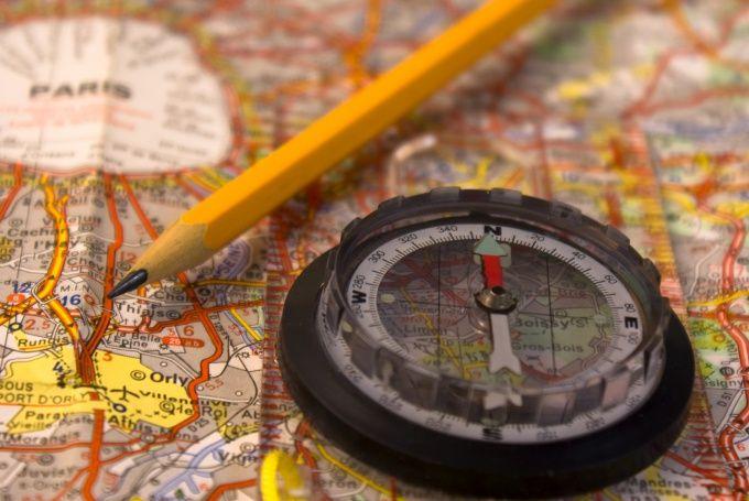 Как определить, где север