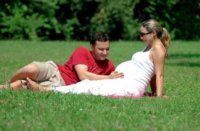 Как определить месяц беременности