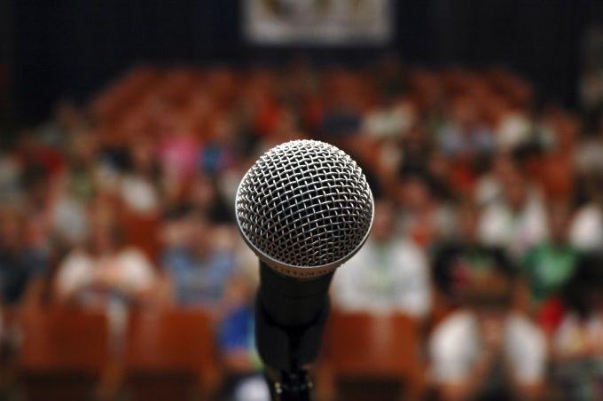 Как организовать выступление