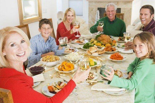 Как отметить праздник в кругу семьи