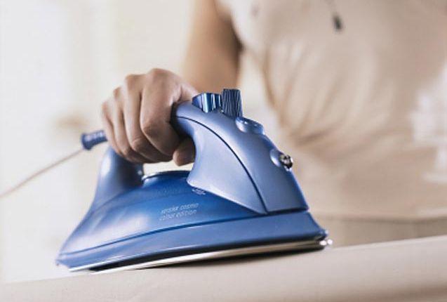 Как отмыть утюг
