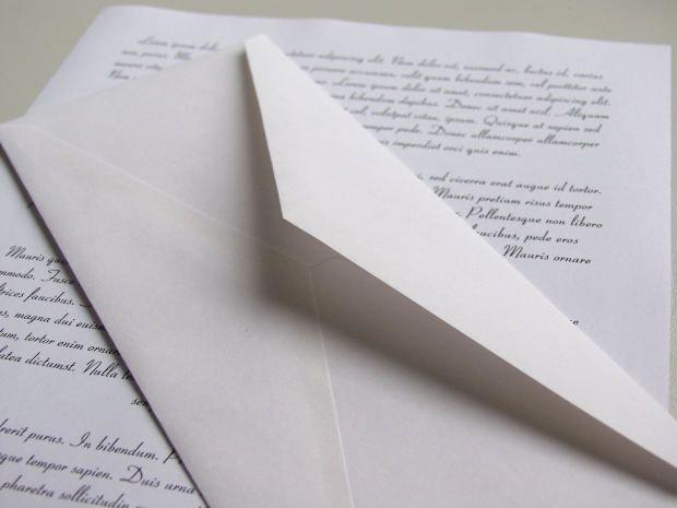 Как писать письмо. примеры