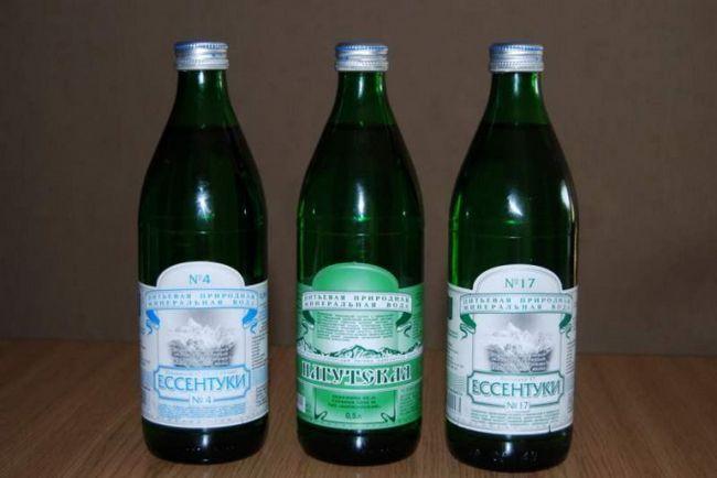 Как пить минеральную воду