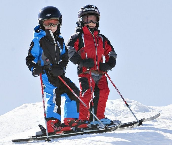 Как подобрать горные лыжи ребёнку