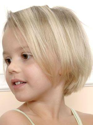 Как подстричь девочку