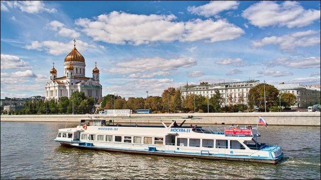 Как покататься по Москве-реке на водном трамвайчике