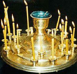 Как поставить свечку во здравие