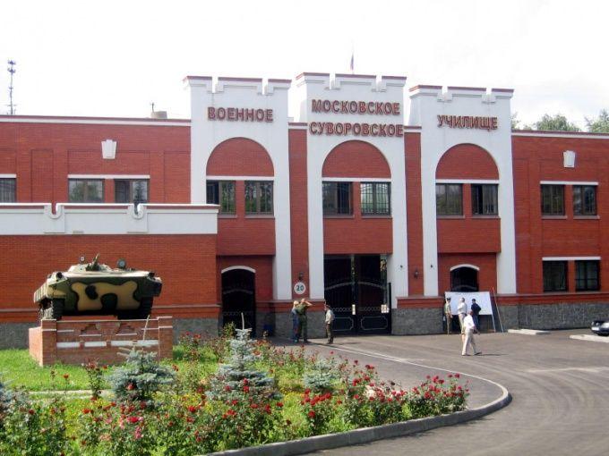 Как поступить в суворовское училище в москве