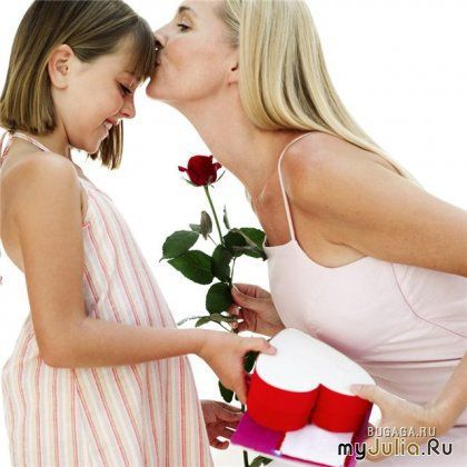 Как поздравить с днём рождения маму