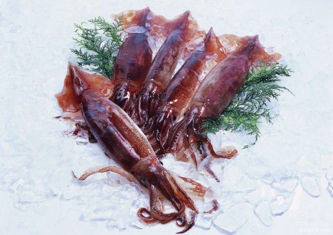Как приготовить салат из кальмаров