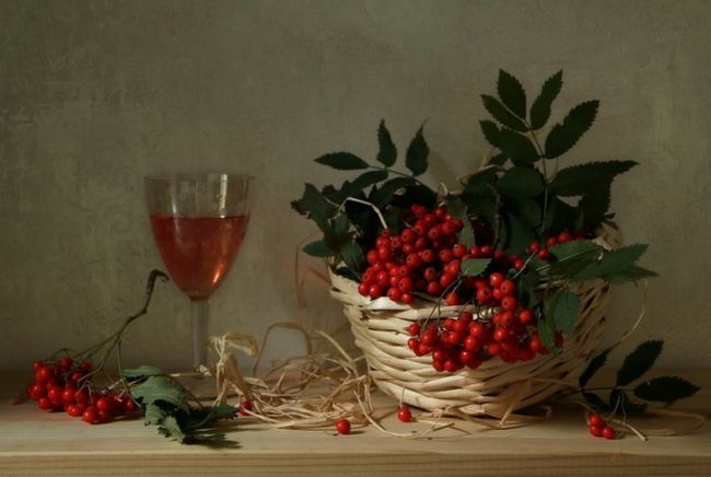 Как приготовить вино из рябины