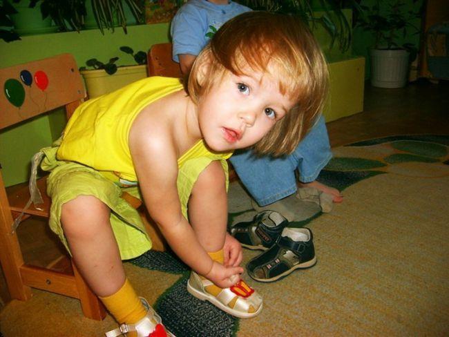 Проявите терпение при обучении ребенка самостоятельности