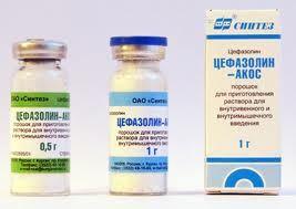 Как развести цефазолин для ребенка