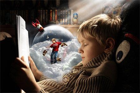 Детское воображение может создавать целые миры.