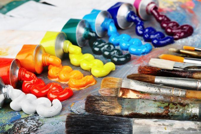 Как рисовать масляной краской