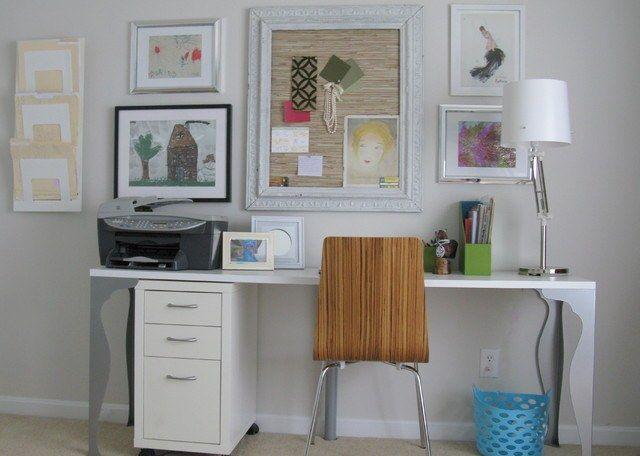 Как сделать детский рисунок украшением комнаты