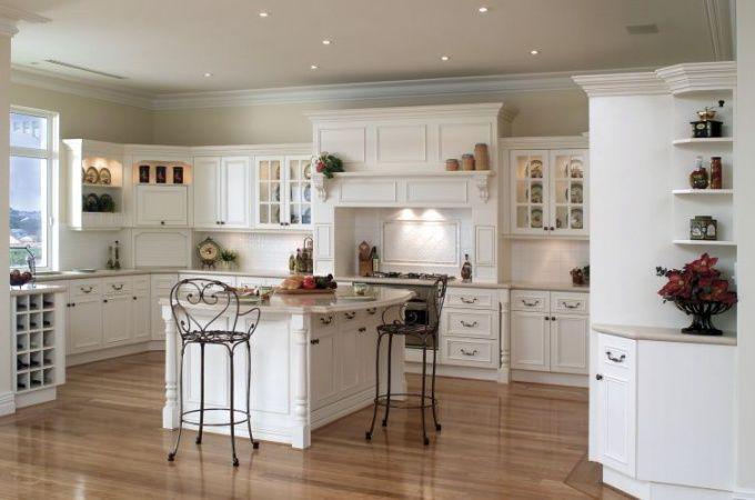 Кухня должна быть светлой, удобной и функциональной