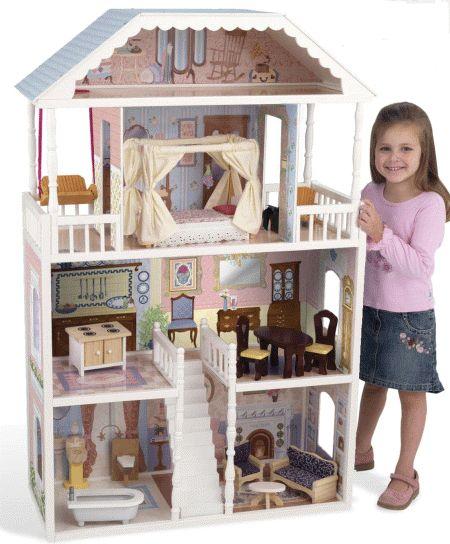 Как сделать кукольную мебель самому