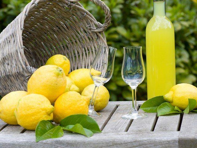 Как сделать лимончелло