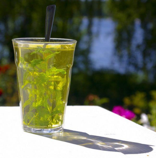 Как сделать мятно-лаймовый чай со льдом