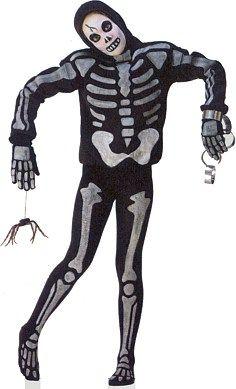 очень просто сделать скелет-костюм