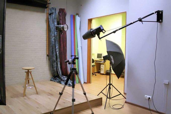 Как сделать свою фото студию