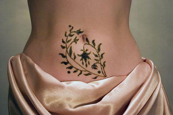 Как сделать татуировку на время
