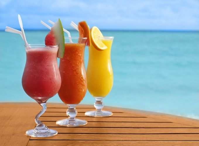 Как сделать вкусный фруктовый коктейль