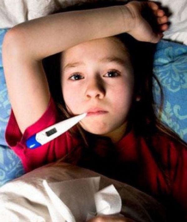 Как снизить ребенку высокую температуру