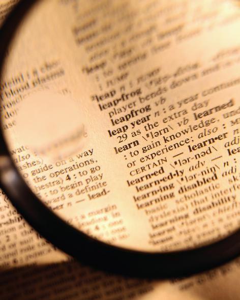 Как составить словарь